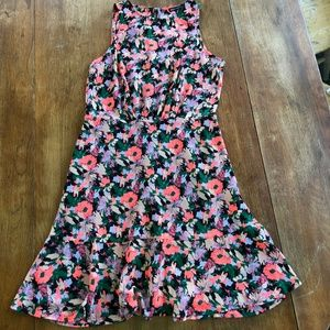 J.Crew Mercantile Ruched-Waist Dress